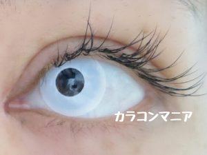 ハロウィン・コスプレ用白カラコン/ジーニーガールズ (マットホワイト)は視界が悪くなる・見えなくなる