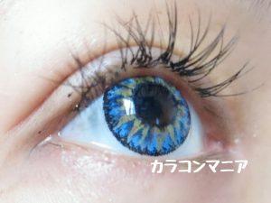 ハロウィン・コスプレ用青コン/ジーニーガールズ (トロピカルブルー)は高発色の青コン