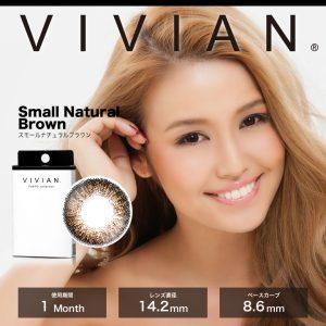 VIVIAN/ヴィヴィアン(スモールナチュラルブラウン)のモデル