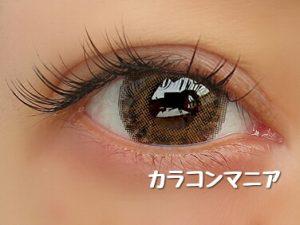 revy Mimozaレヴィ ミモザ(ブラウン)の装着画像/外での見え方