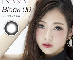 カラコンNANA(ブラック00)のイメージ