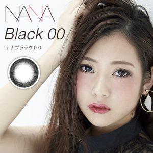カラコンNANA(ブラック00)のモデル