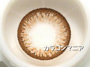ロデオ ヴォヤージュ ココrodeo voyage coco(ブラウン)の大きさと着色直径