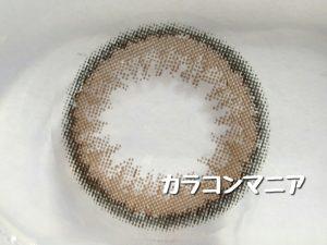 カラコンNANA(ブラウン02)の大きさや着色直径