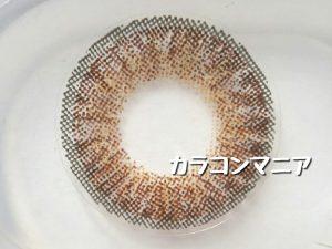revy Mimozaレヴィ ミモザ(ブラウン)の大きさ・着色直径