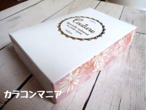 クチュールmirageミラージュ(サニーブラウン)の箱・パッケージ