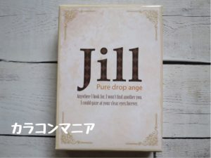 Jill Puredorop ange(ジル ピュアドロップ アンジュ ナチュラルブラウン)の箱・パッケージ